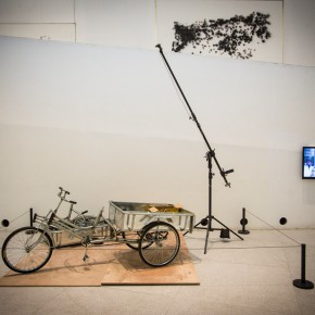 """03 Installation view of Czech artist Federico Díaz's solo exhibition """"The Welded Ornament of the Times"""" 290x290 - New Topic on Machine Aesthetics: Federico Díaz's """"The Welded Ornament of the Times"""" debuted at CAFA Art Museum"""