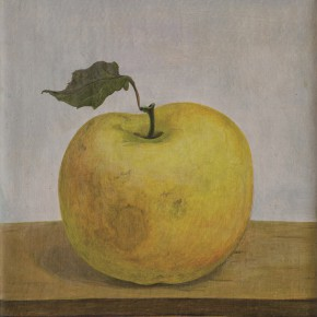 "04 Shi Yanliang ""A Small Apple"" oil on canvas 20 x 15 cm 2013  290x290 - Group Exhibition ""The Taste of Life"" Shown at Soka Art Center Beijing"