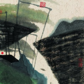 """05 Work Displaying at""""On the Road • 2014 Chinese Young Artists Nominated Exhibition and Young Critics Forum"""" 290x290 - On the Road • 2014: Nominated Chinese Young Artists Exhibition and Young Critics Forum Held in Shenzhen"""
