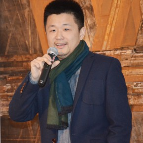 """05 Yin Dan Academic Director of the exhibition gave a speech 290x290 - Together on the Path: the First """"Ovation Star"""" - Exhibition of Excellent Works for the Youth Support Plan"""