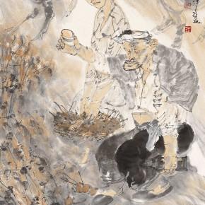 "07 Li Yang, ""The Drunken Song"", 136 x 68 cm, 2006"