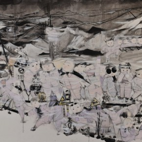 """08 Work Displaying at""""On the Road • 2014 Chinese Young Artists Nominated Exhibition and Young Critics Forum"""" 290x290 - On the Road • 2014: Nominated Chinese Young Artists Exhibition and Young Critics Forum Held in Shenzhen"""