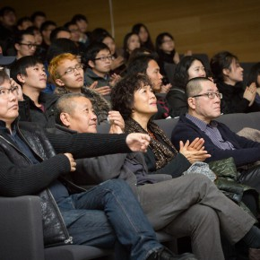 "10 View of the awards ceremony of ""Agnès Varda's Award"" 290x290 - 2014 Agnès Varda's Award Issued by CAFA and Cui Jian won the ""Special Attention Prize"" for the ""Blue Bone"""