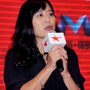 11 Ms. Zeng Qiong, founder of New Star Festival