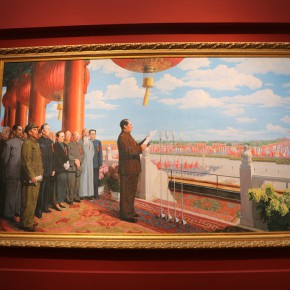 """17 Installation view of """"The Oil Painting of Chinese Style Retrospective Exhibition of Dong Xiwen on His 100th Birthday""""  290x290 - """"The Oil Painting of Chinese Style – Retrospective Exhibition of Dong Xiwen"""" was inaugurated"""