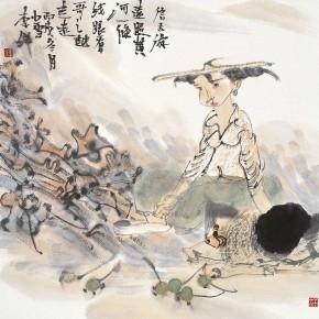 """18 Li Yang, """"Xintianyou"""", 68 x 68 cm, 2006"""