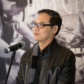 """24 Wang Chunchen Director of the Academic Department of CAFA Art Museum 290x290 - New Topic on Machine Aesthetics: Federico Díaz's """"The Welded Ornament of the Times"""" debuted at CAFA Art Museum"""