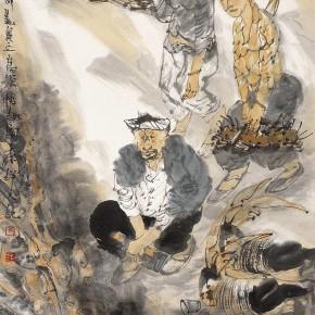 "32 Li Yang, ""The Interesting Autumn"", 68 x 68 cm, 2006"