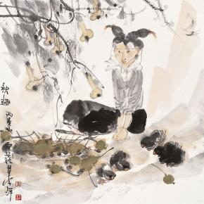 "33 Li Yang, ""The Interesting Autumn"", 68 x 68 cm, 2006"