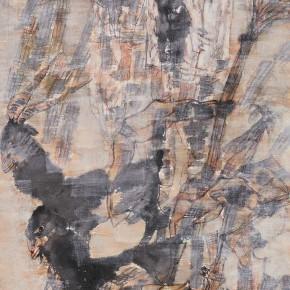 """57 Li Yang, """"The Cultivator"""", 136 x 68 cm, 2002"""