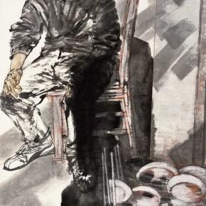 "73 Li Yang, ""In the Class"", 180 x 96 cm, 2009"