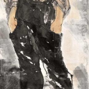 "86 Li Yang, ""The Marginal of the City No.2"", 180 x 45 cm, 2007"