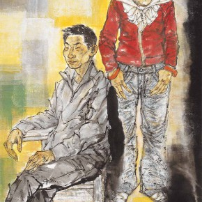 "89 Li Yang, ""The Marginal – New Home"", 180 x 90 cm, 2007"