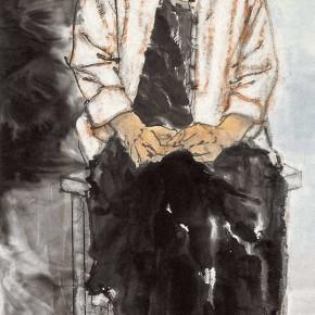 "91 Li Yang, ""The Marginal"", 180 x 50 cm, 2007"