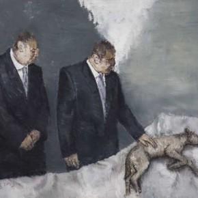 "Huang Liyan Shut Up 150X180CM 2013 290x290 - White Box Art Center presents ""Huang Liyan: The Incubus Illuminates the Reality"""