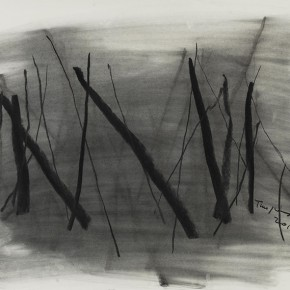 Tan Ping, Drawing, 2014;  charcoal pencil,  78.7x109.2cm