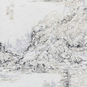 """Wang Tiande Back Hill MLST043 2014 290x290 - The Hive Centre for Contemporary Art announces """"Variation: Contemporary Chinese Ink Art Series II"""" opening on December 20"""