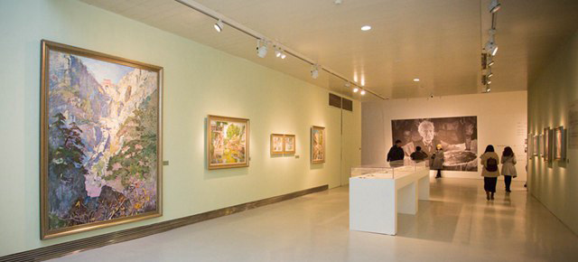 "The Retrospective Exhibition of Feng Fasi Showcasing His Road of ""Cutting into Mountain"""