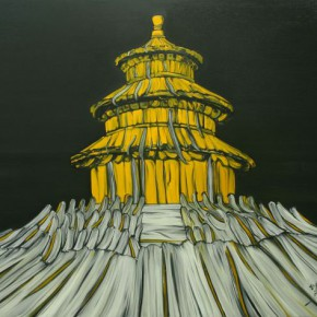 """01 Ding Wei Shadow 2009 oil on canvas 215x160cm 290x290 - Yuan Art Museum presents """"His Kingdom–Paintings By Ding Wei From The Recent Decade"""""""