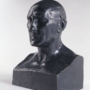 02 Auguste Rodin Bust of Jean Baptiste Rodin his father bronze 1860 45 x 28 x 24 cm Rodin Museum in Paris S. 971 290x290 - Rodin, l'oeuvre d'une vie Shown at the National Museum of China