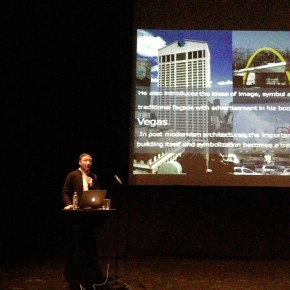 """02 Professor Chang Zhigang gave a keynote speech entitled """"Clues to the Future of Media Architecture"""" at the main venue """"Black Box"""" 290x290 - Professor Chang Zhigang from CAFA Invited to Attend the Media Architecture Biennale and the Summit Forum"""
