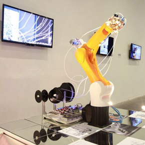 "Group exhibition ""Robotic Future"" showcases the world's most advanced robot-based digital architectural creations at Mingsheng Art Museum"