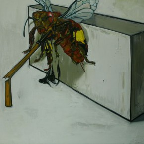 """03 Ding Wei Take a Rest Why Cant You Sit down and Take a Rest 2009 oil on canvas 215x160cm 290x290 - Yuan Art Museum presents """"His Kingdom–Paintings By Ding Wei From The Recent Decade"""""""