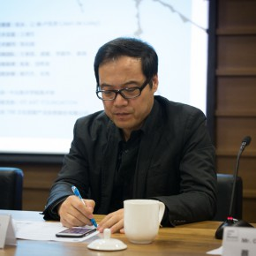 """03 Wang Chunchen at the press conference of the 2nd """"CAFAM Future"""" Exhibition 290x290 - The 2nd """"CAFAM Future"""" Exhibition: Observer-Creator/The Reality Representation of Chinese Young Art Announced at CAFAM"""