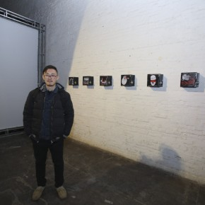 """05 Artist CaiYuanhe and the work """"Dislocation and Alienation"""""""