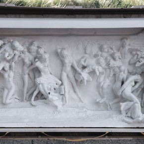 05 Auguste Rodin The Gates of Hell lintel 1887 1889 plaster 128.5 x 258 x 86 cm Rodin Museum in Paris S.5729 290x290 - Rodin, l'oeuvre d'une vie Shown at the National Museum of China