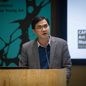 """05 Cai Jingsong Director of Art Museum of Beihang University  290x290 - """"The 2nd CAFAM Future Exhibition"""" Series of Academic Activities–the First """"University and Art Museum"""" Forum held at CAFAM"""