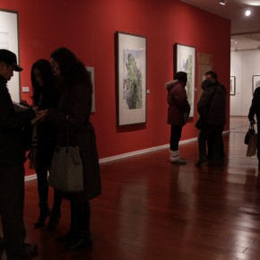 08 Exhibition View 290x290 - Landscape as the Medium–Nationwide Famous Artists of Chinese Painting and Drawing Exhibition in Guilin