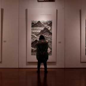 09 Exhibition View 290x290 - Landscape as the Medium–Nationwide Famous Artists of Chinese Painting and Drawing Exhibition in Guilin