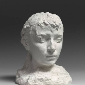 10 Auguste Rodin Camille Claudel 1864 1943 also called Portrait of Camille with Short Hair about in 1884 plaster 27.5 x 21.5 x 21.5 cm Rodin Museum in Paris S.1777 290x290 - Rodin, l'oeuvre d'une vie Shown at the National Museum of China