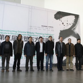 15 Group photo of honored guests of the opening ceremony of the Nanjing show 290x290 - The Third Reconstruction of Oriental Beauty Painting Exhibition – Beauty in the Discerning Eye of Aspirations in Ink and Wash