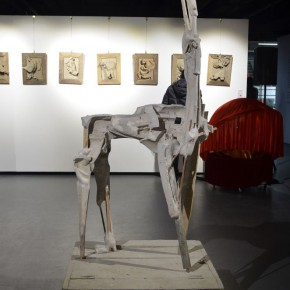 "16 The Best Creative Prize Du Yingqi ""Calling a Stag a Horse""  290x290 - Dayuntang Art Museum presented ""2014 Creative Achievement Exhibition by the Postgraduate Students of the Department of Sculpture, CAFA"""