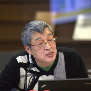 17 Chu Teh-I, Director of Kuandu Museum of Fine Arts at Taipei National University of the Arts