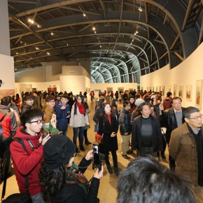 19 Installation view of the Nanjing show 290x290 - The Third Reconstruction of Oriental Beauty Painting Exhibition – Beauty in the Discerning Eye of Aspirations in Ink and Wash