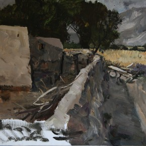 """31 Li Xiaolin, """"The Tajik Home"""", oil painting, 50 x 60 cm, 2012"""