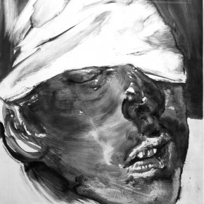 "57 Li Xiaolin, ""The Miner No.26"", print, 54 x 40 cm, 2012"