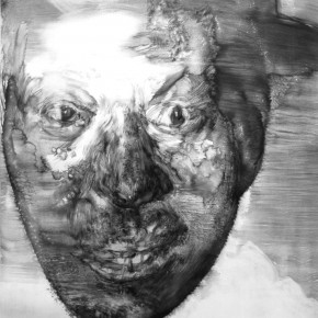 "61 Li Xiaolin, ""The Miner No.21"", print, 54 x 40 cm, 2013"