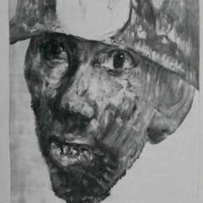"62 Li Xiaolin, ""The Miner No.20"", print, 54 x 40 cm, 2010"