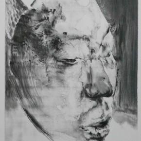 "64 Li Xiaolin, ""The Miner No.18"", print, 54 x 40 cm, 2009"