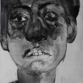 "71 Li Xiaolin, ""The Miner No.10"", print, 54 x 40 cm, 2008"