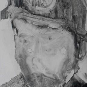 "72 Li Xiaolin, ""The Miner No.9"", print, 54 x 40 cm, 2008"