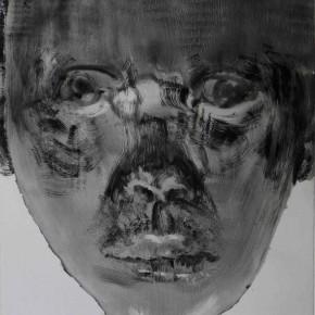"73 Li Xiaolin, ""The Miner No.8"", print, 54 x 40 cm, 2008"