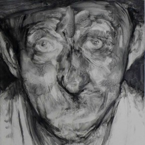"74 Li Xiaolin, ""The Miner No.6"", print, 54 x 40 cm, 2008"