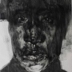 "76 Li Xiaolin, ""The Miner No.4"", print, 54 x 40 cm, 2008"