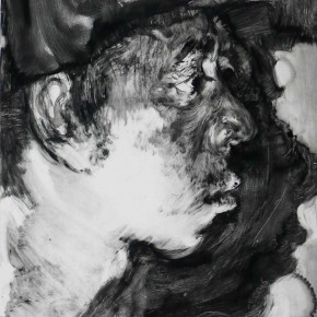 "78 Li Xiaolin, ""The Miner No.2"", print, 54 x 40 cm, 2008"