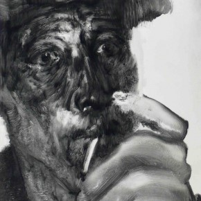 "79 Li Xiaolin, ""The Miner No.1"", print, 54 x 40 cm, 2008"